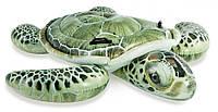 """Надувной плотик Intex """"Черепаха"""" с ручками интекс 57555, размеры - 191 х 170 см."""