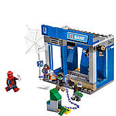 Конструктор Lepin «Ограбление банкомата» Серия Super Escort (204 детал.)
