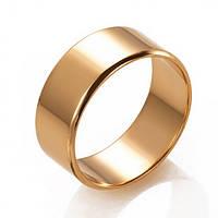 Стильное обручальное кольцо(европейка), ОК015.7Евр
