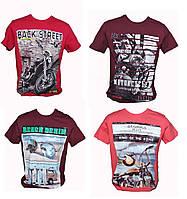 Мужские футболки турецкие со стильными принтами