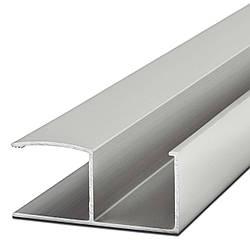 Ручка-профиль 16мм. AL-16-1 2.7м. алюминий