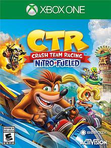 Диск с игрой Activision-Blizzard Xbox One Crash Team Racing [Blu-Ray диск]