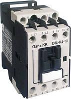 DL-K4-10 4KBт/ 9A, 230 B, контактор Ganz KK