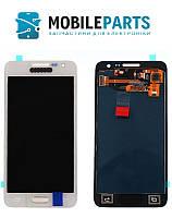 Дисплей для Samsung Galaxy A3 A300H   A300F   3500Н Яркость регулируется (Белый) TFT подсветка оригинал