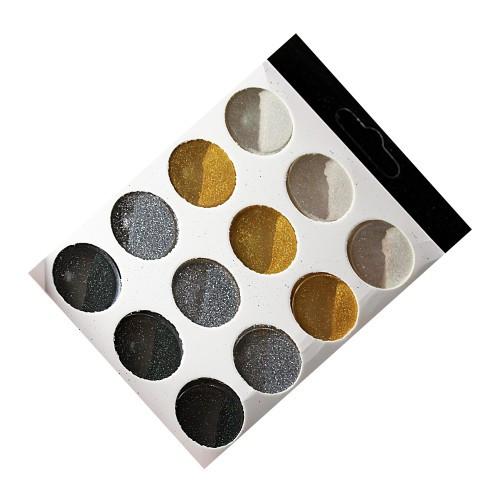 Набор декора для ногтей 12 шт (4 цвета)
