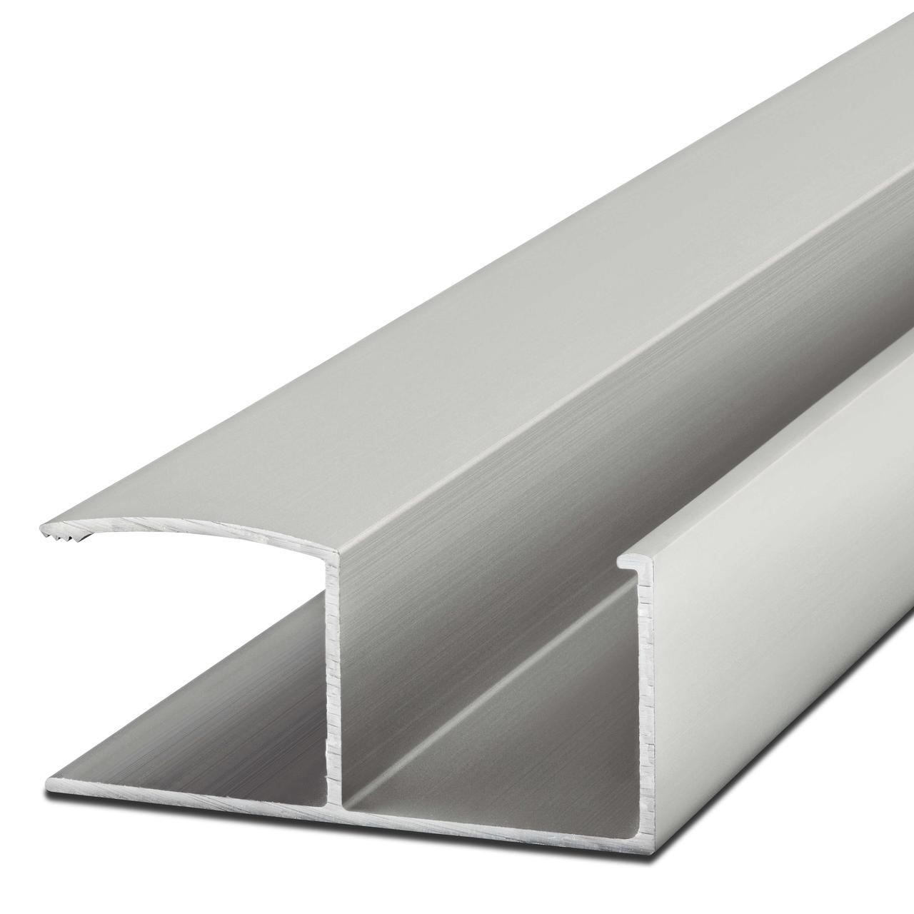 Ручка-профиль 18мм. AL-18-1 2.7м. алюминий