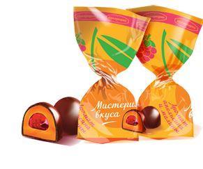 Белорусские конфеты мистерия апельсин