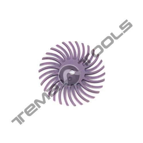 Нейлоновая радиальная щетка Ø25 P600 для гравера