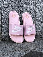 Сланцы. Шлёпанцы женские Nike (шльопанці). ТОП КАЧЕСТВО !!! Реплика класса люкс, фото 1
