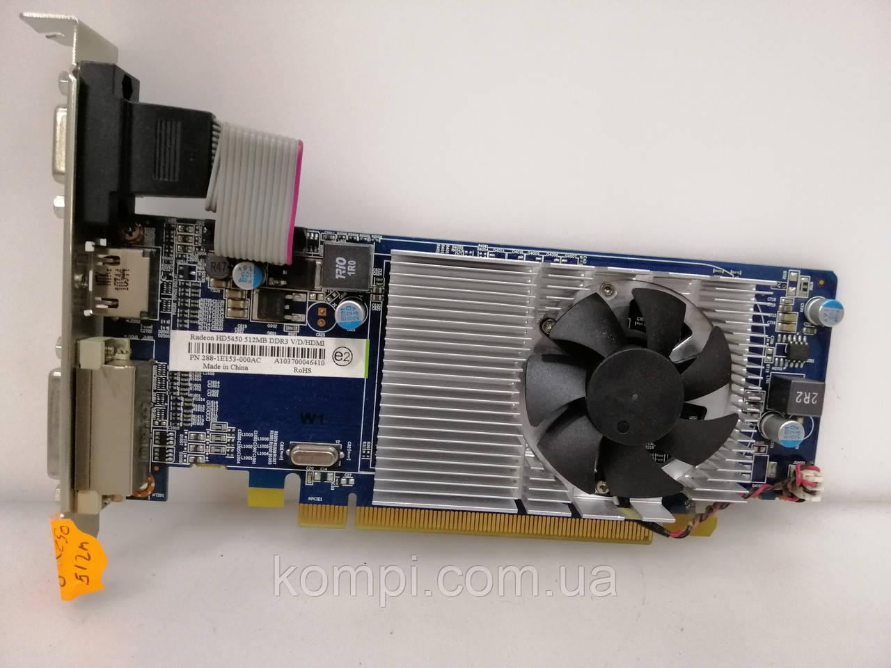 Видеокарта ATI RADEON HD 5450 512mb  PCI-E HDMI