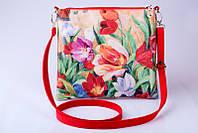 Женский клатч Тюльпаны 12, фото 1