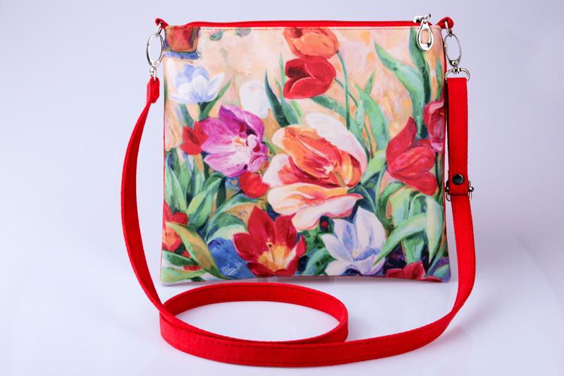 Женский клатч Тюльпаны 12