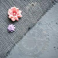 """Пластиковый шаблон набор из 2 шт """"Спираль"""" для создания цветов из фоамирана, фетра, картона"""