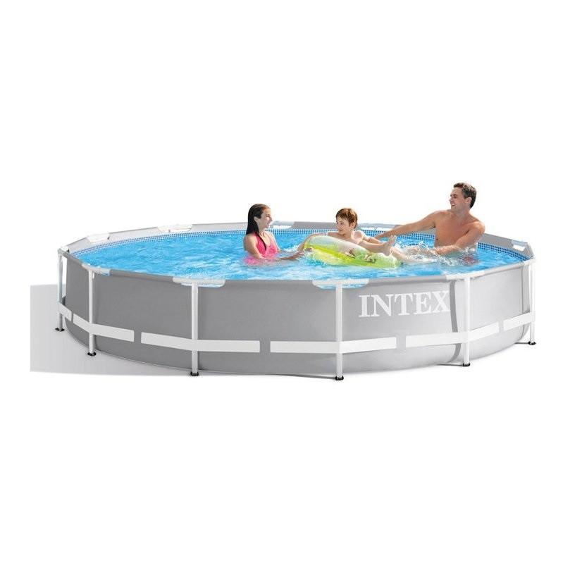 Круглый каркасный бассейн Intex, фильтр-насос (1250 л/ч), 305х76 см (26702)