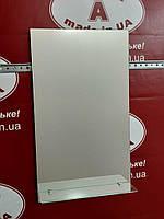 Зеркало в ванную с полочкой №2 прямоугольное /Дюбель + L-крюк 6х40 в Подарок