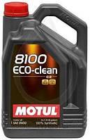 MOTUL 8100 Eco-Clean 0W-30 5л фильтр масляный в подарок