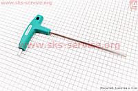 Ключ шестигранник с Т-ручкой, 8мм