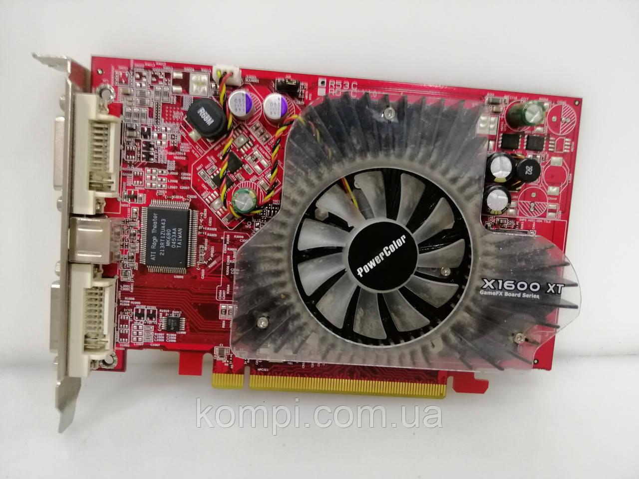 Видеокарта ATI RADEON X1600XT 256MB PCI-E