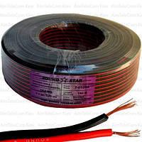 Кабель питания Sound Star, CCA, 2x0.75мм², красно-чёрный, 100м