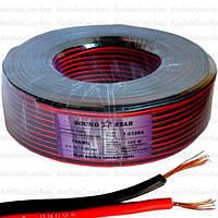 Кабель питания Sound Star, CCA, 2х0.50мм², красно-чёрный, 100м