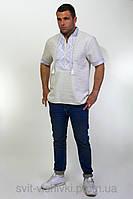 Мужская вышиванка с коротким рукавом 70-20