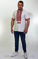 Мужская вышиванка с коротким рукавом 70-21