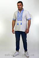 Мужская вышиванка с коротким рукавом 70-22, фото 1