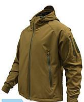 Куртка штормовая Soft-Shell Coyote, фото 1