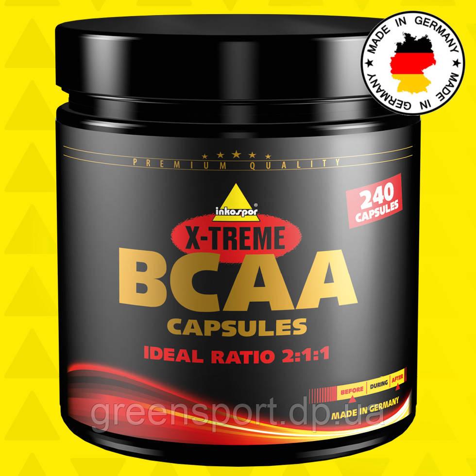 BCAA аминокислоты Inkospor X-Treme BCAA Capsules (240 капсул)