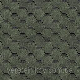 Финская черепица Шинглас Соната (Shinglas Sonata) зеленая