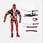 Реалістична фігурка Дэдпула з набором аксесуарів - Deadpool, Marvel, 15СМ, фото 5