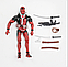 Реалистичная фигурка Дэдпула с набором аксессуаров  - Deadpool, Marvel, 15СМ, фото 5