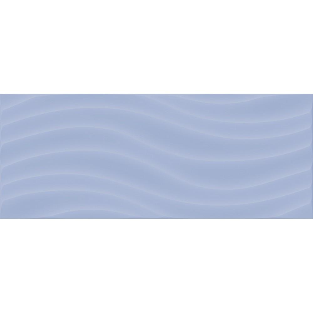 Волна Плитка д/стен голуб. 200*500 2с