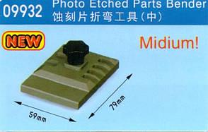 «Гнулка» для фототравления средняя 79 х 59 мм. MASTER TOOLS 09932