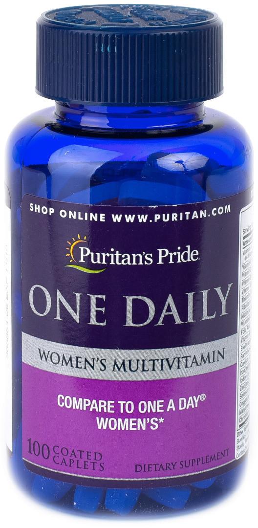Витамины Puritan's Pride - One Daily Women`s Multivitamin (100 таблеток)