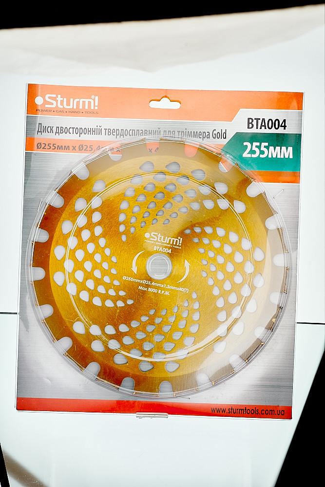 Диск двухсторонний твердосплавный для триммера Sturm BTA004 Gold