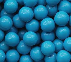 Посыпка шарики глянцевые голубые d-10 мм, 50 грм