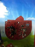 Дождевик детский пончо силиконовый 3Д Щенячий патруль р.86 - 104