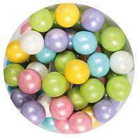 Посыпка шарики глянцевые разноцветные d-10 мм, 50 грм