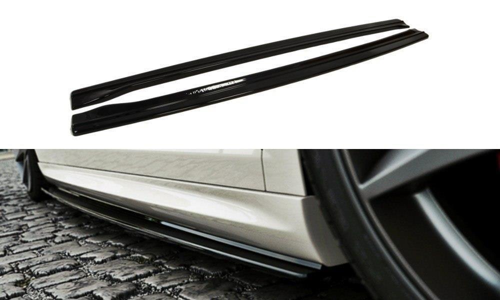 Сплиттер VW Passat CC R-line (08-12) тюнинг элерон под пороги