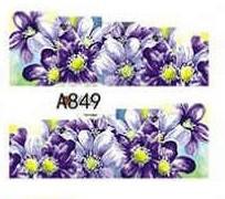 Слайд для дизайна ногтей A849