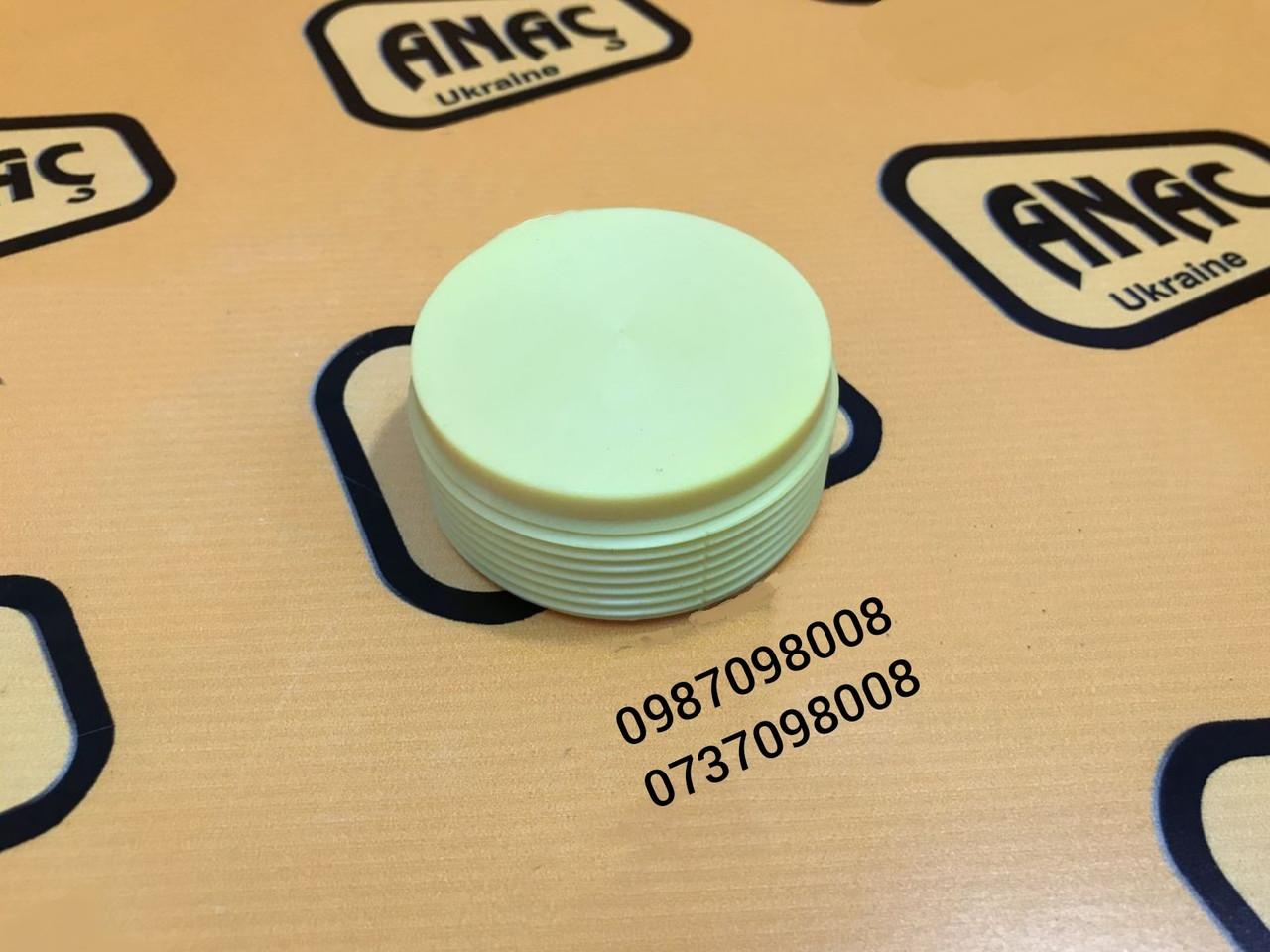 Гайка регулировочная опоры (пластик) на JCB 3CX, 4CX  номер : 123/07665, 128/10850
