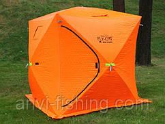 Палатка куб - Fly Cat Winter Tent Ice Cube - Оранжевая