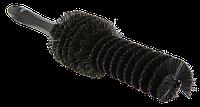 Vikan - цилиндрическая черная щетка для очистки дисков 320 x 170 x 65 мм