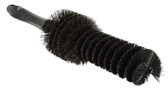 Vikan - цилиндрическая черная щетка для очистки дисков 320 x 170 x 65 мм - фото 1