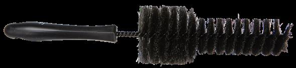 Vikan - цилиндрическая черная щетка для очистки дисков 320 x 170 x 65 мм - фото 2