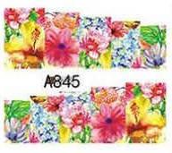 Слайд для дизайна ногтей A845