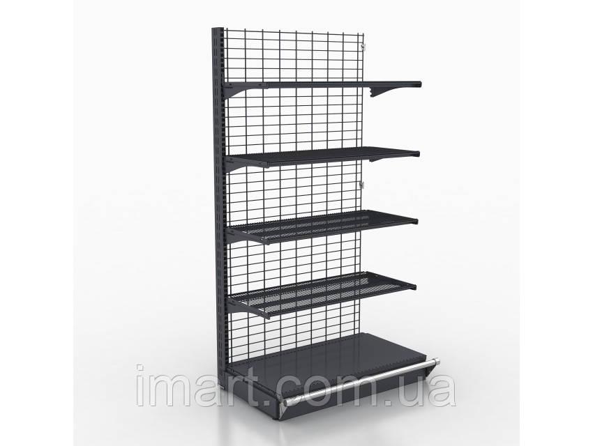 Торговый стеллаж проволочный металлический Rmb 8. Торговий стелаж дротяний металевий