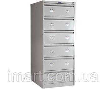 Картотечный металлический шкаф AFC-06. Картотечна шафа металева