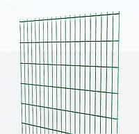 Панельный забор 2D  оцинкованный  с Zn+ППЛ покрытием, L 2500 х H 1630мм, d5/4/5мм